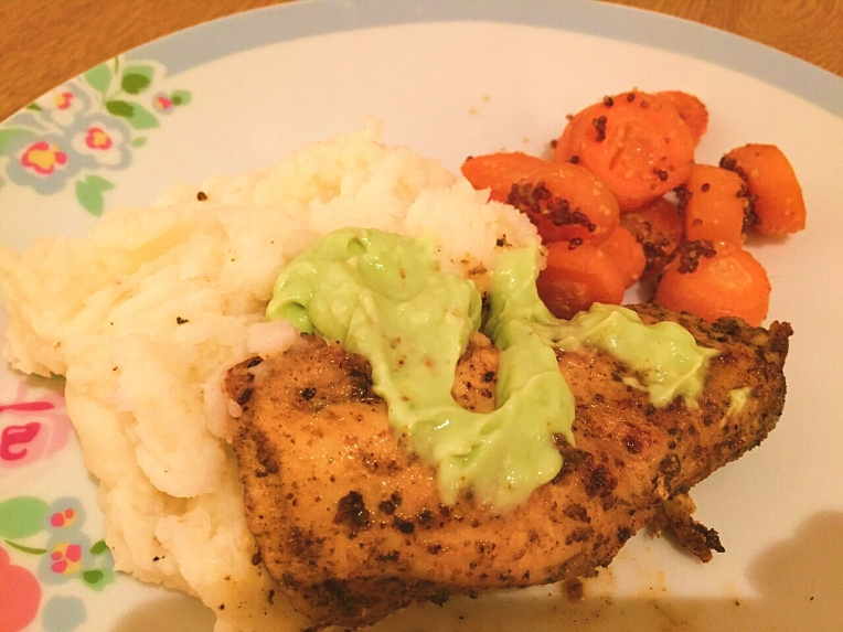 blackened chicken, recipe, dinner, cleaneating, healthy